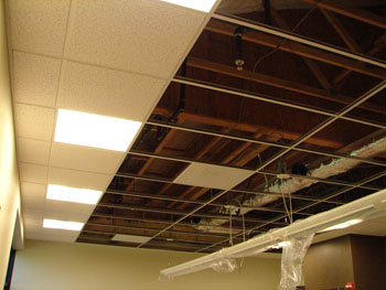 Faux plafond alg rie agencement installations lectrique for Faux plafond suspendu decoratif
